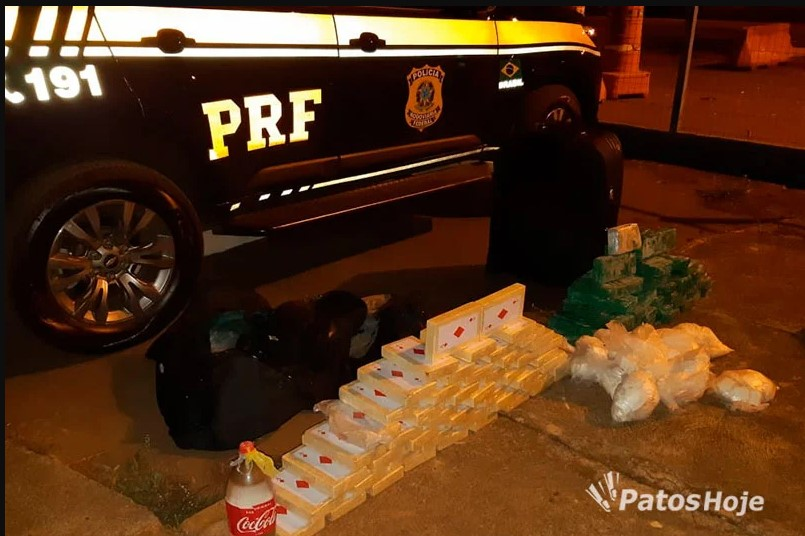 PRF apreende carregamento de cocaína no valor de R$ 7 milhões em ônibus de banda - Vazante.net