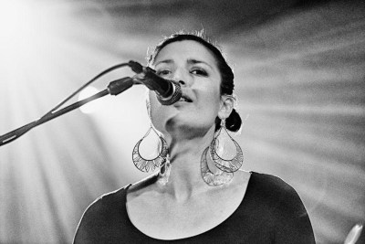 Rebecca Sanborn singing