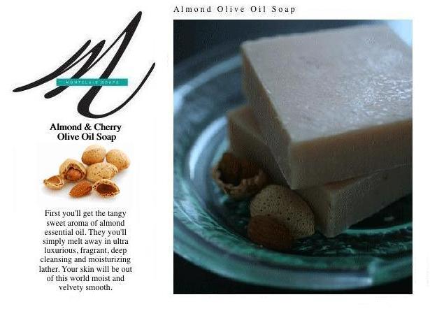 Montclair Almond Cherry Soap