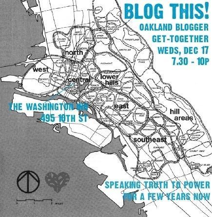 Oakland Blogger Gathering