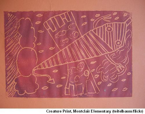 Montclair Elementary Print