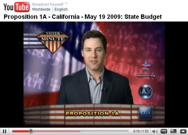 California Prop 1A - Video Intro