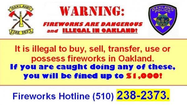 Fireworks Hotline