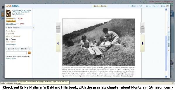 Oakland Hills, by Erika Mailman