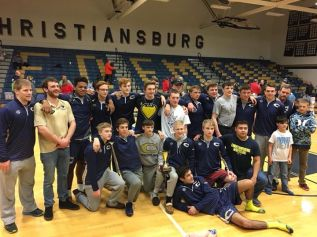 As a team, Christiansburg took the regional title Saturday and will send 13 wrestlers to the state tournament.