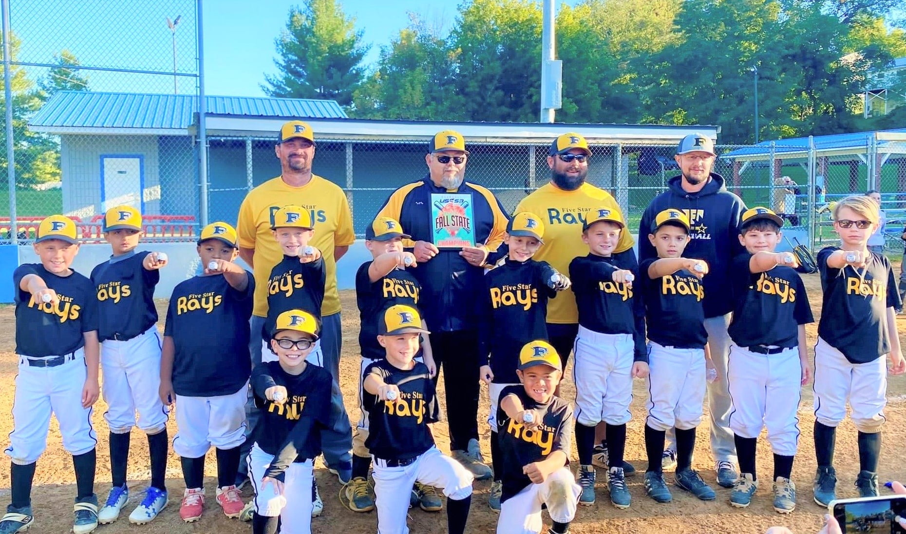 Nine-and-under Rays will state baseball title