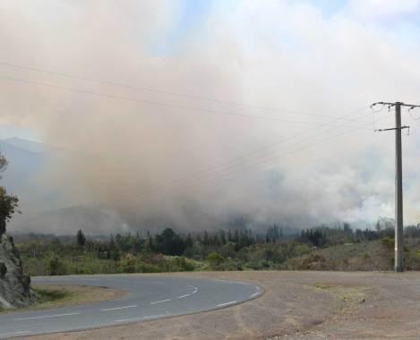 incendie mouirange Mont dore 2018