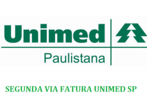 segunda via fatura unimed sp