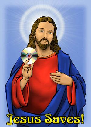Jesus Saves with CD