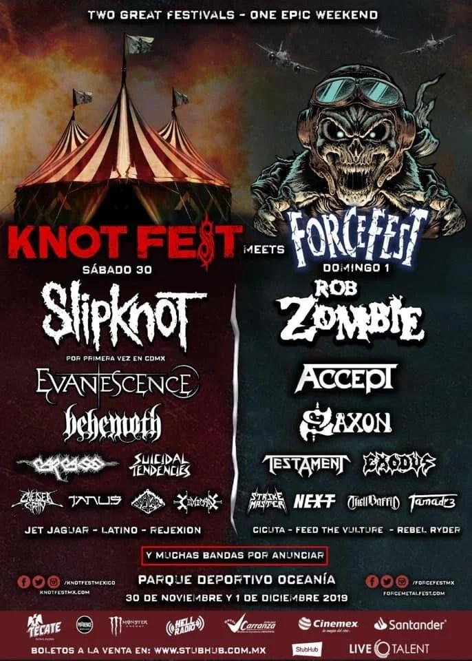 Knot Fest Meets Force Fest 2019
