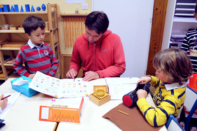Mathématiques, montessori international Brodeaux