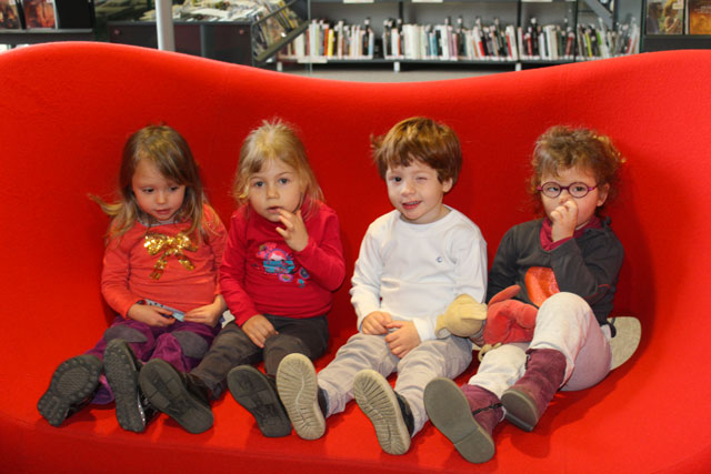 Sortie médiathèque de Montessori Internationale de Bordeaux-Gradignan