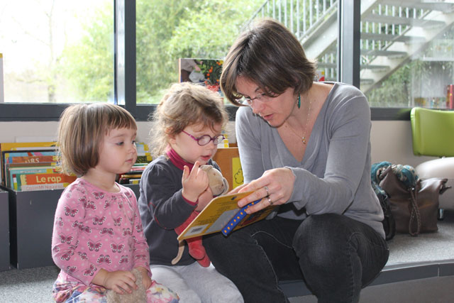 Sortie médiathèque de l'école Montessori Internationale de Bordeaux-Gradignan