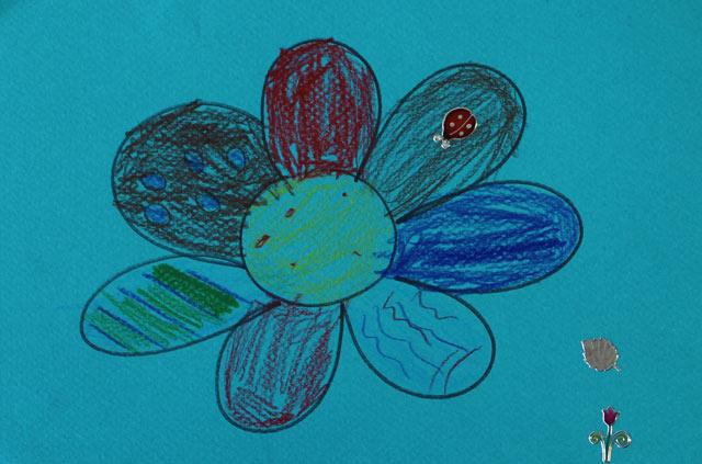 montessori international Bordeaux - dessin récital de printemps