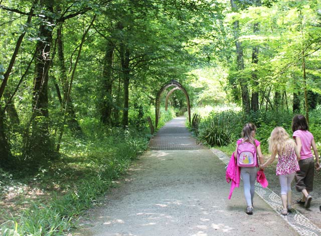 arche - parc Majolan - école Montessori Internationale Bordeaux