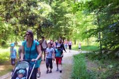 retour - parc Majolan - école Montessori Internationale Bordeaux