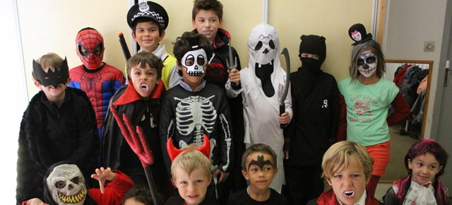 Halloween 2015 à l'école Montessori Internationale de Bordeaux