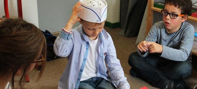 Superbe exposé à l'école Montessori