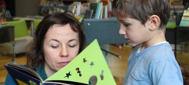 Maternelle Montessori : sortie médiathèque