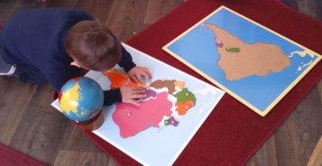 montessori geographie