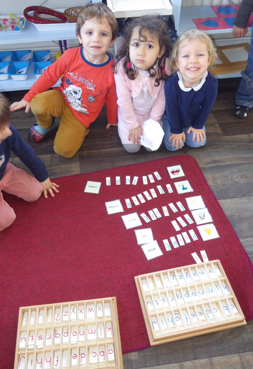 phoneme montessori