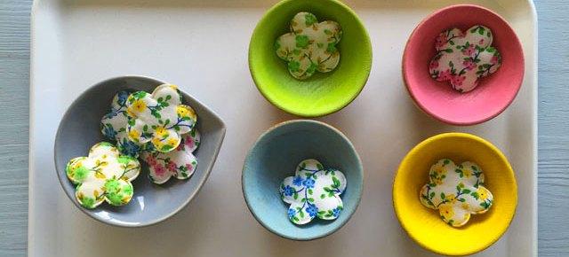 Vies pratique et sensorielle en Montessori : printemps