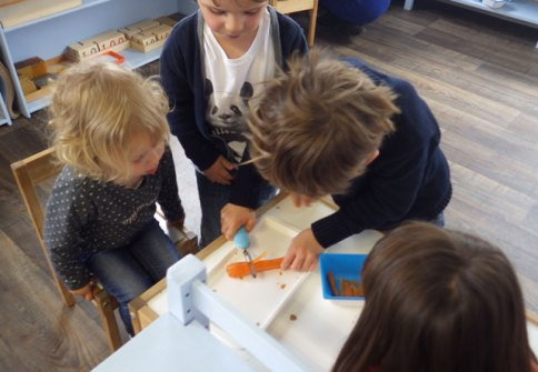 eplucher carotte montessori