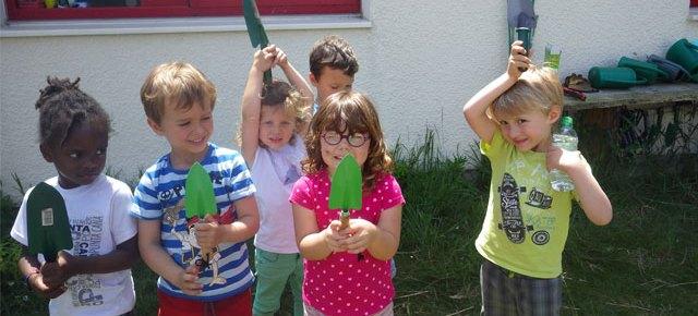 Le potager en Montessori #juin2016