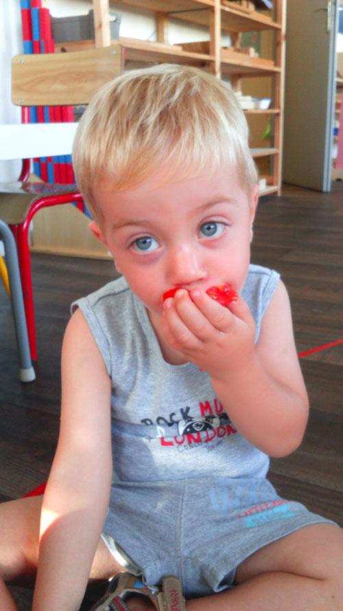sensoriel gout montessori bordeaux