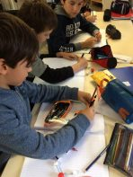 Montessori International Bordeaux : sciences, expérience en chimie