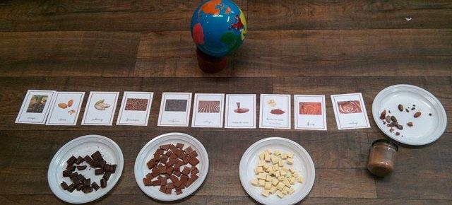 Un mois de décembre chocolaté pour la maternelle orange !