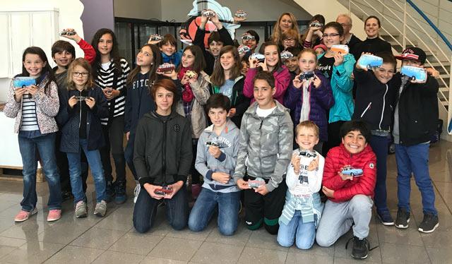 Montessori International Bordeaux - visite minaluxe - groupe primaire et collège