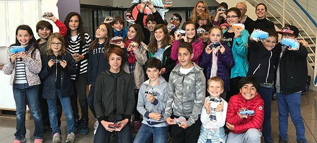 Sortie primaires – collèges Montessori chez Minialuxe et Web To Print