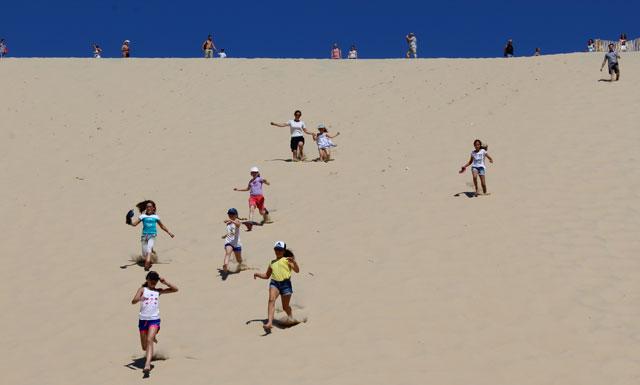 sortie dune pyla montessori international bordeaux 17
