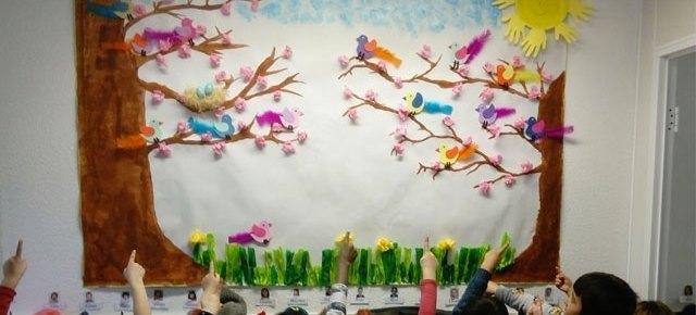 Le printemps à l'école Montessori