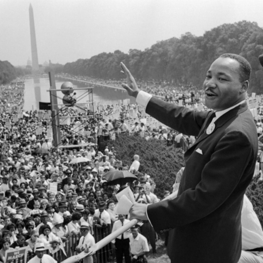 M.L. King Jr. I have a dream