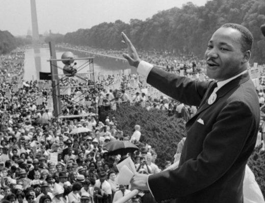 M.L. King Jr. I have a dream
