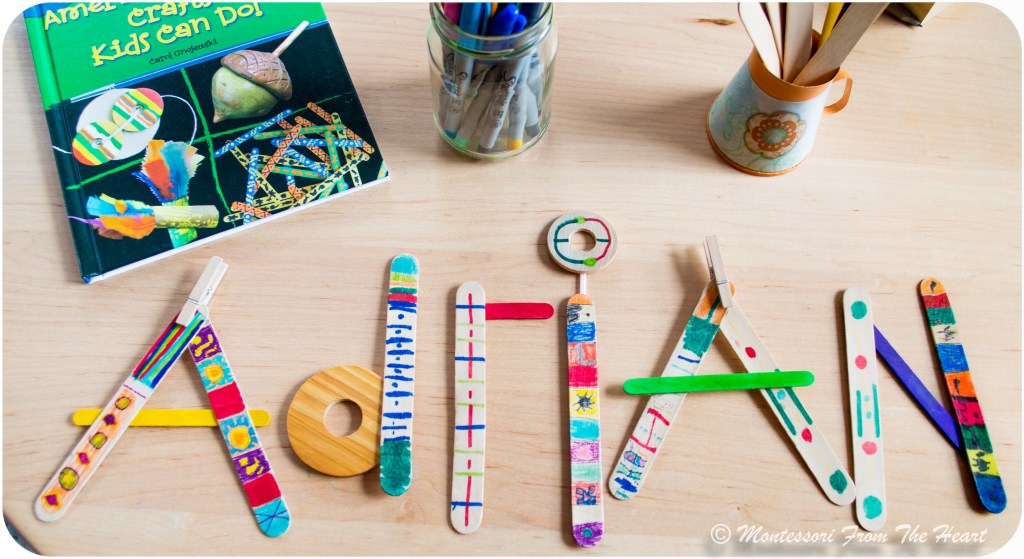 Spelling-Name-with-Haida-craft-sticks-Name-Recognition