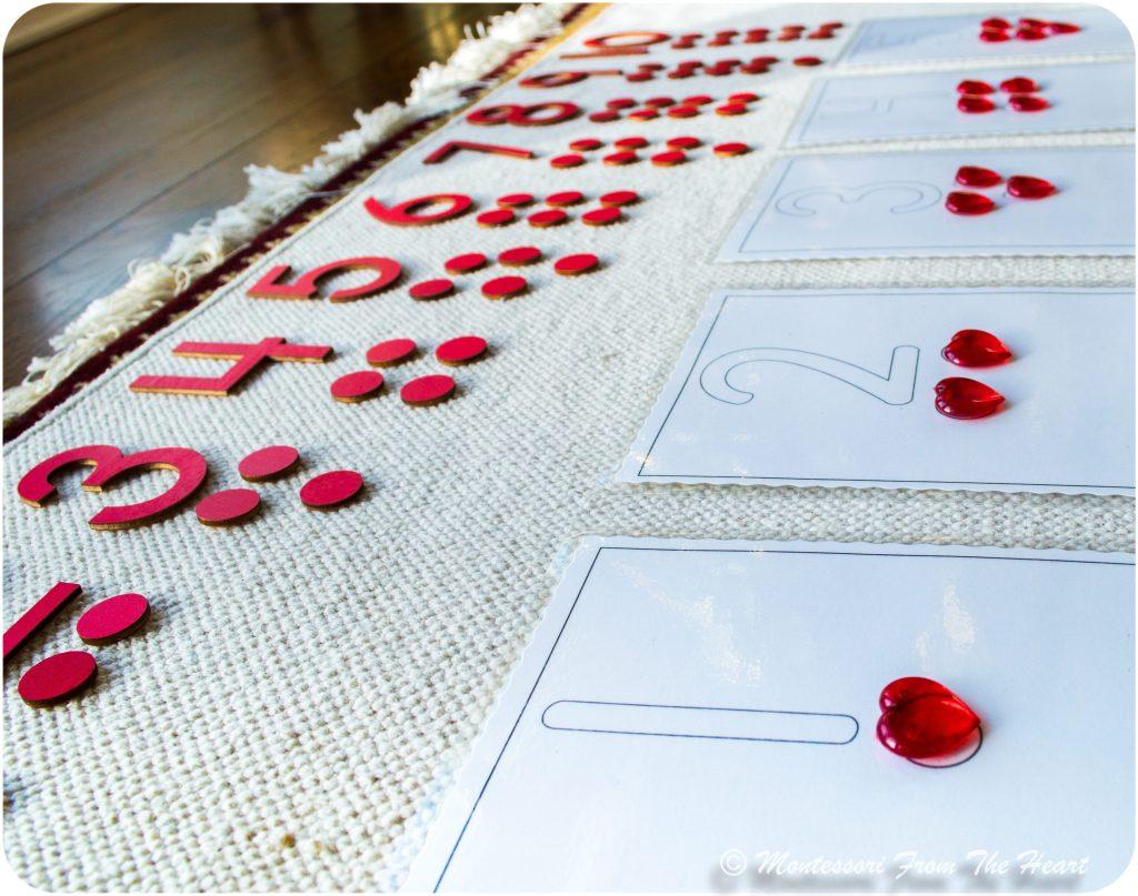 *Odd-Even-Montessori Math-Valentines-Hearts-Cards-And-Counters