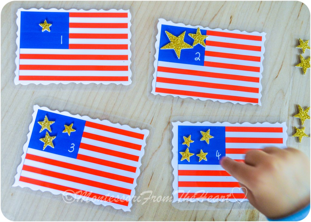 Counting-Stars-1-4-American-Flag Preschooler
