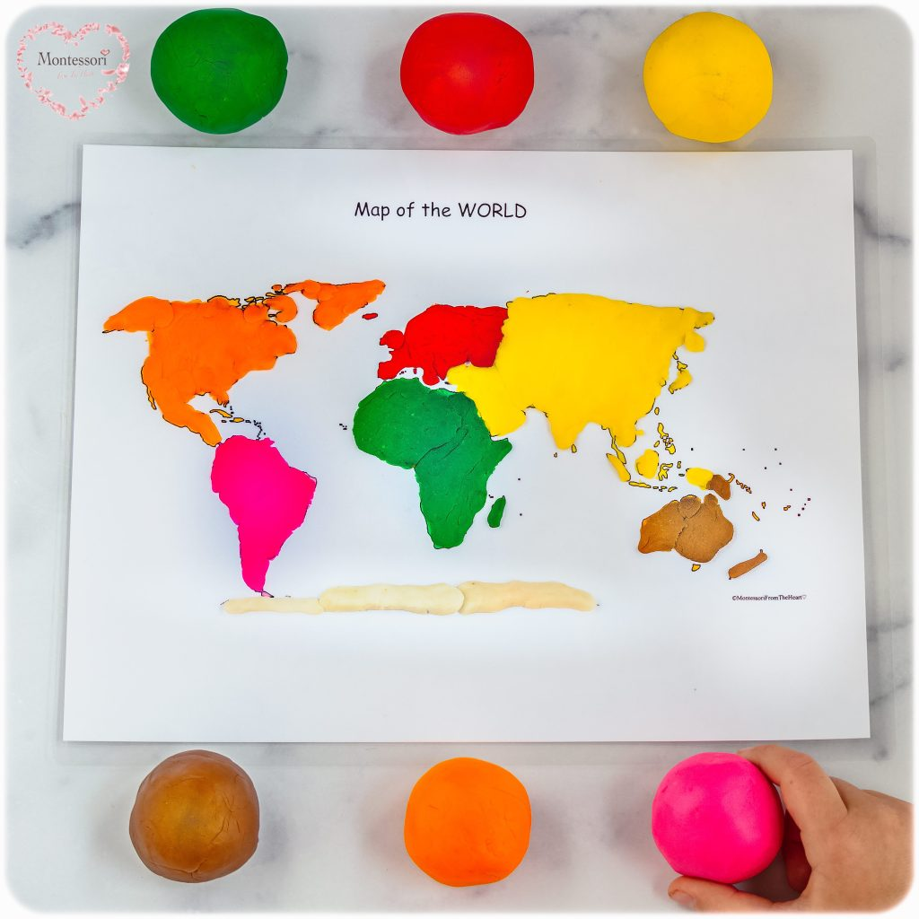 Earth-World-Map-Play-dough