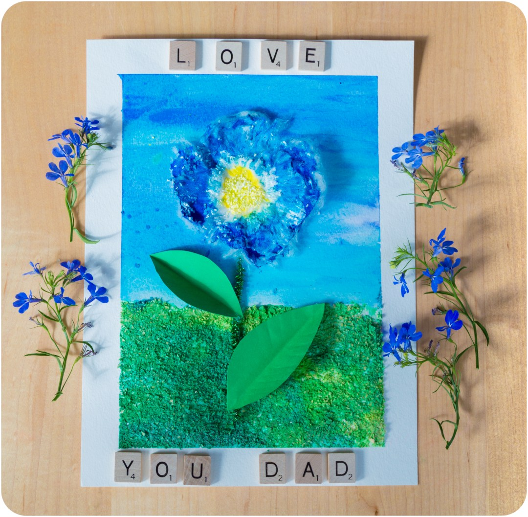 3D-Textured-Grains-Kids-Art-Love-U-Dad