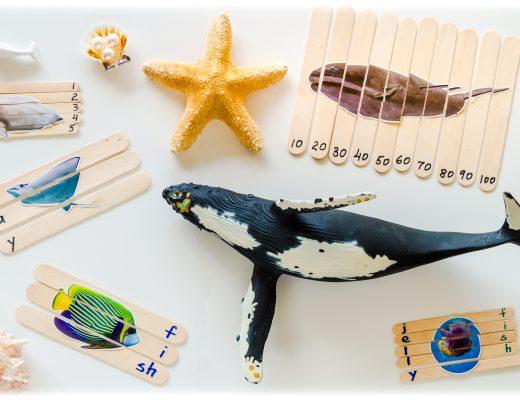 Ocean-DIY-Craft-Sticks-Puzzle-Preschool