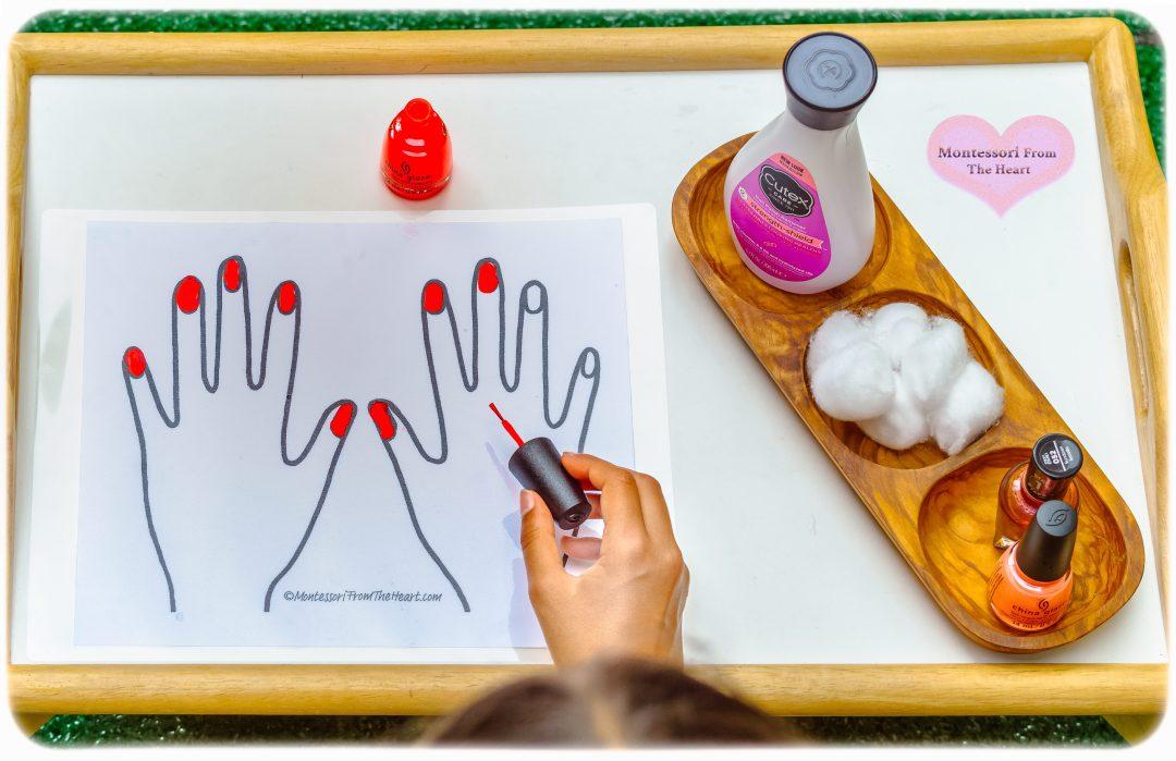 Pretend-Nail-Salon-Kids-Activity