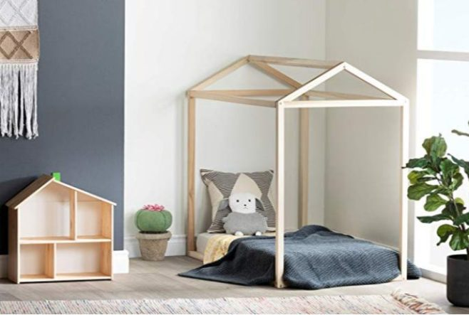 solid wood baby toddler bed