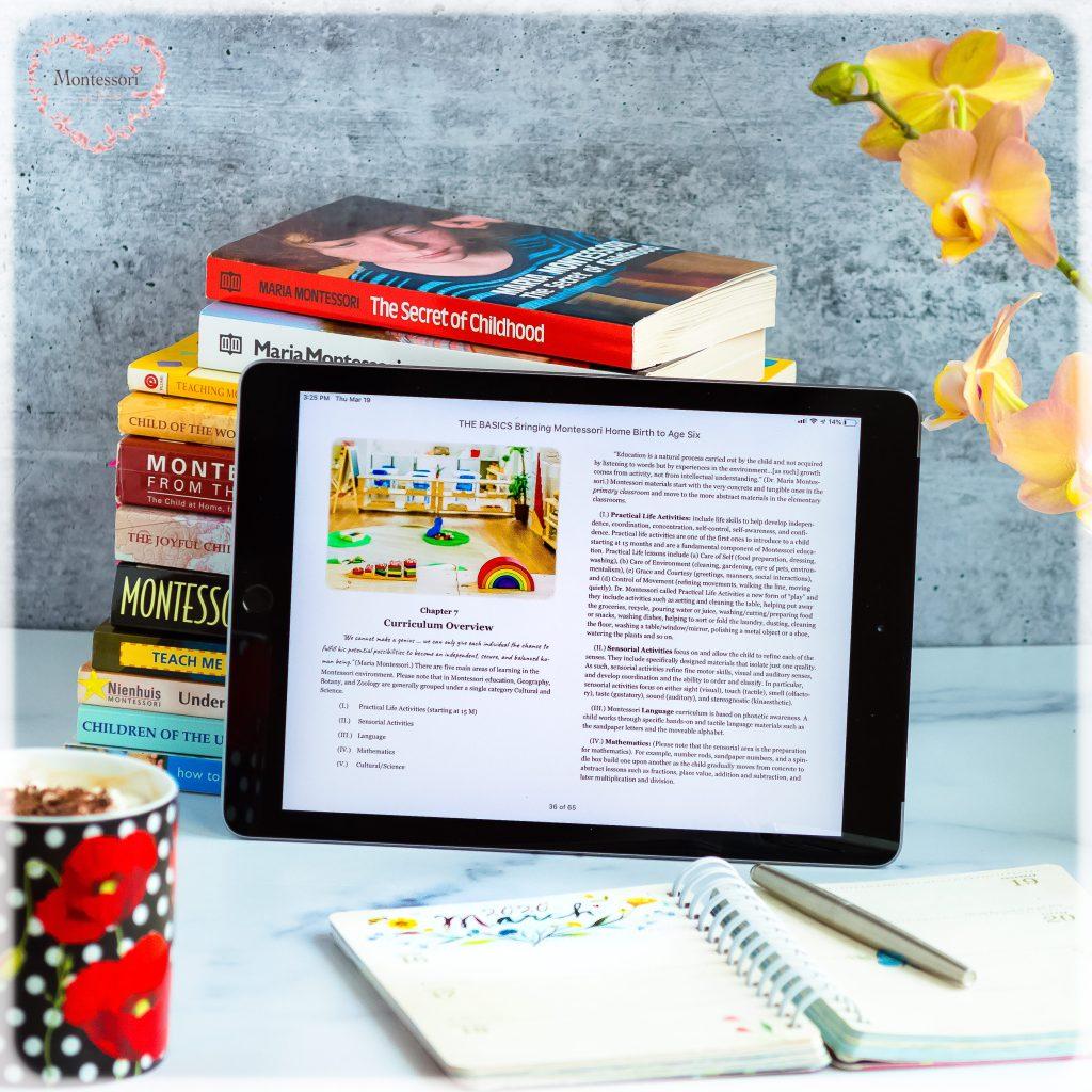 iBook-The-BASICs-Montessori-Parenting-Book