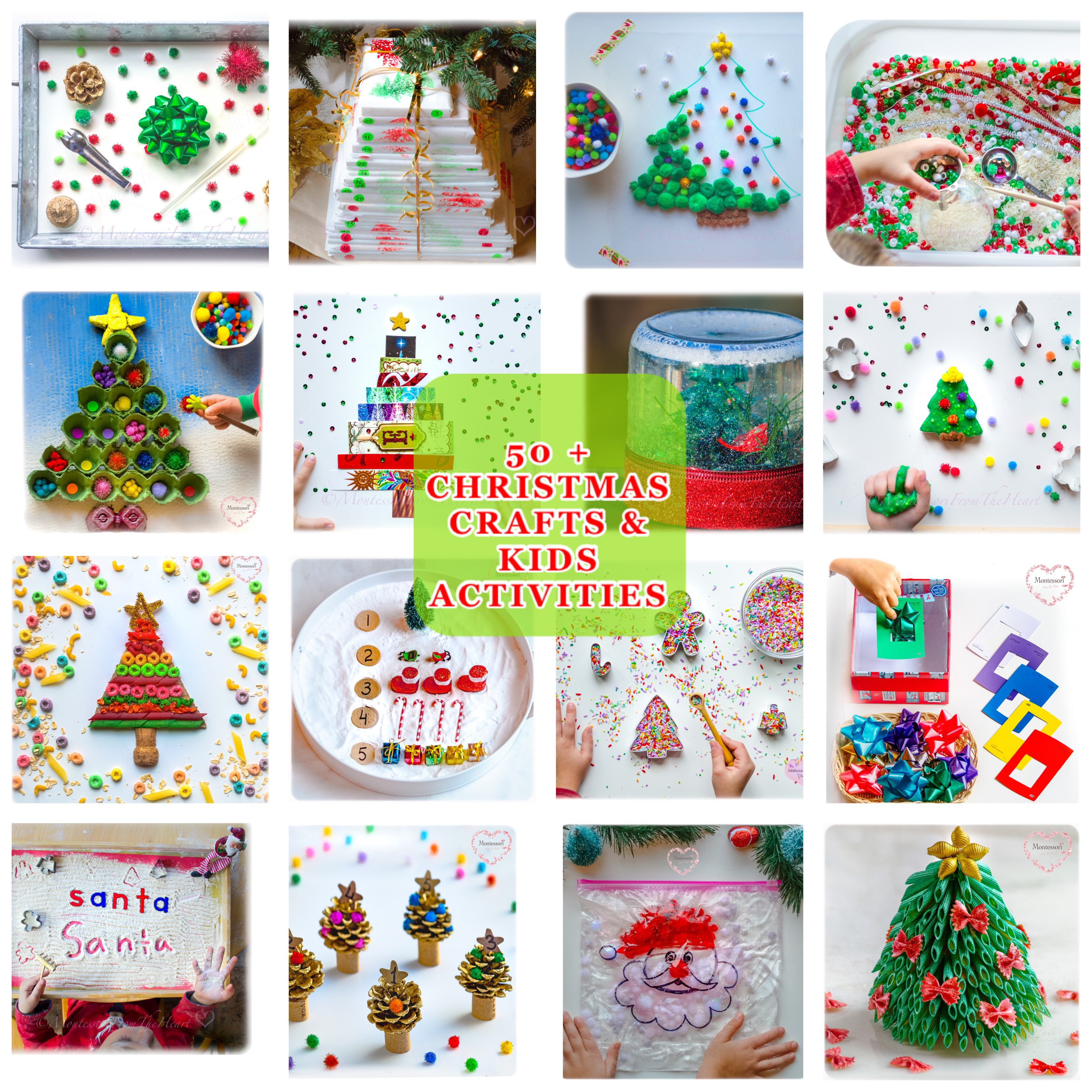 Christmas Activity Craft Pad Glitter Foam Shapes /& Colouring Stocking Fillers