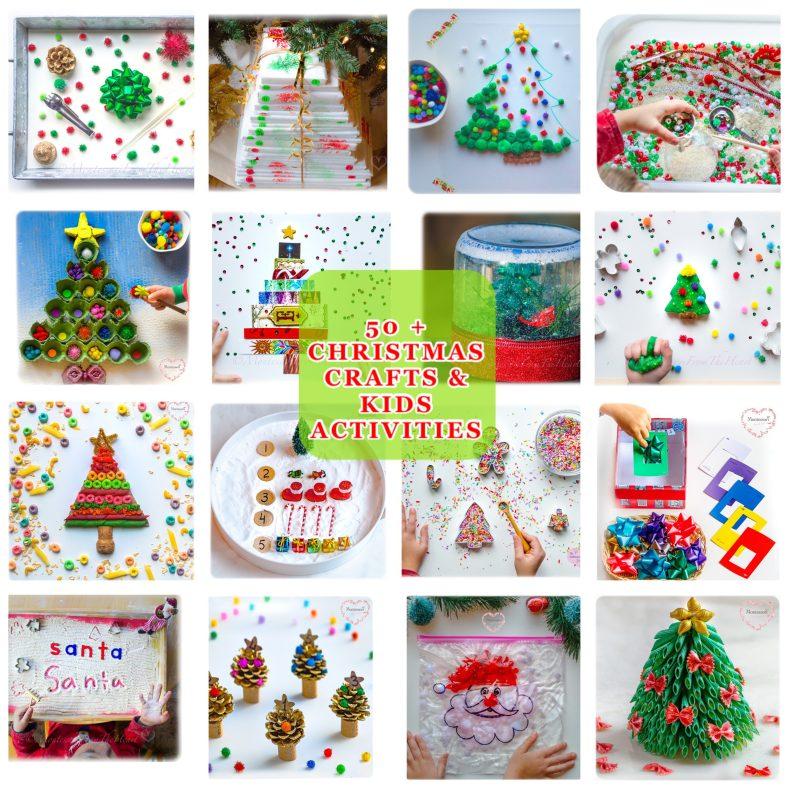 50 + CHRISTMAS KIDS ACTIVITIES