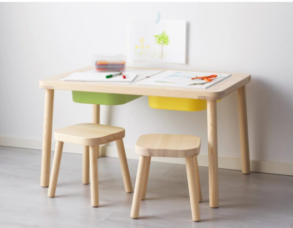 IKEA FLISAT Children's Table a must for sensory play