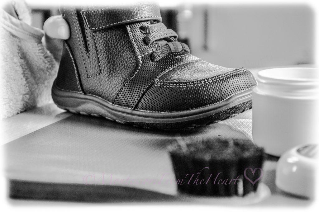 Montessori-Practical-Life-Shoe-Polishing-care-of-self